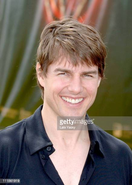 Tom Cruise during 'War of the Worlds' Madrid Photocall at Planetarium in Madrid Spain
