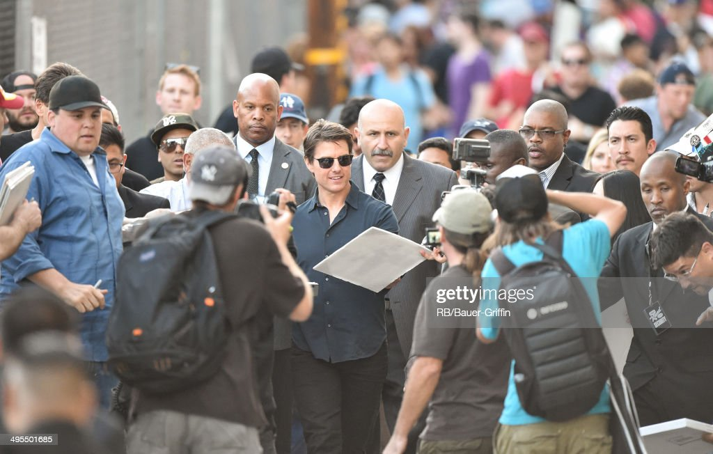 <a gi-track='captionPersonalityLinkClicked' href=/galleries/search?phrase=Tom+Cruise&family=editorial&specificpeople=156405 ng-click='$event.stopPropagation()'>Tom Cruise</a> is seen at 'Jimmy Kimmel Live' on June 03, 2014 in Los Angeles, California.