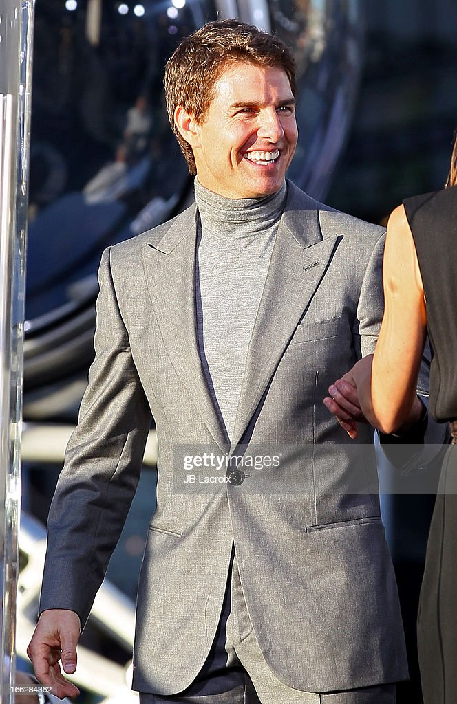 Tom Cruise is seen on April 10, 2013 in Los Angeles, California.