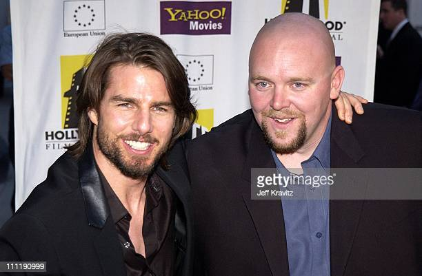 Tom Cruise Joe Carnahan during Hollywood Film Festival Closing Night Premiere of Narc at Arclight Cinema in Hollywood Ca