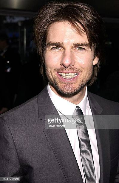 Tom Cruise 'Minority Report' Premiere At The Odeon Leicester Sq London