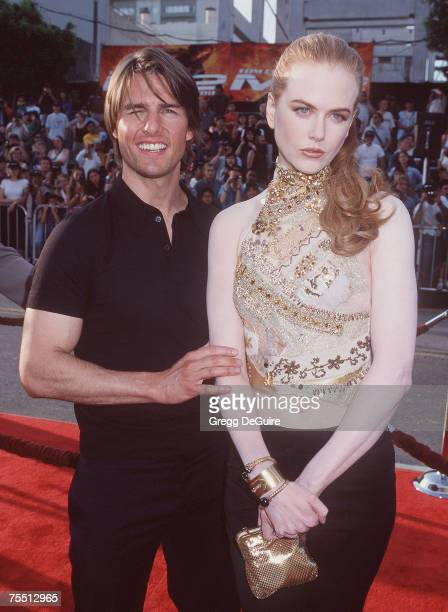 Tom Cruise Nicole Kidman at the Mann Chinese Theatre in Hollywood California