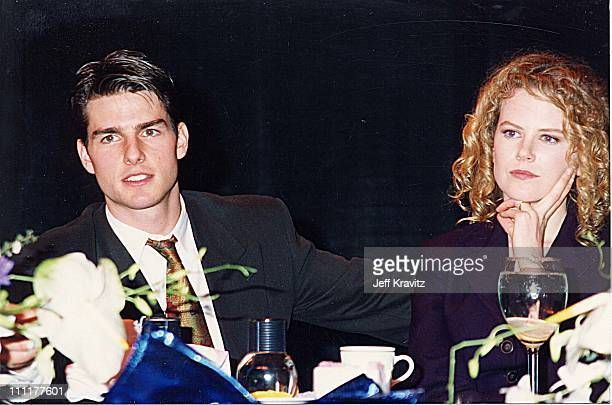 Tom Cruise Nicole Kidman during 1992 ShoWest in Las Vegas Nevada United States