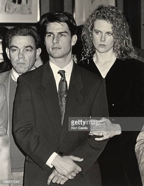 Tom Cruise Nicole Kidman during Oscar's Greatest Moments 19711991 Launch Party at Museum of Television And Radio in New York City New York United...