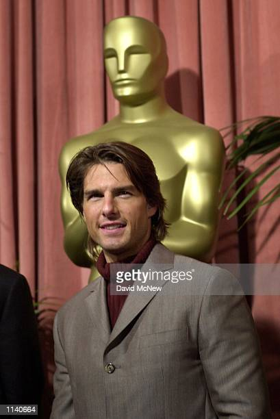 HILLS CALIFORNIA Tom Cruise who is an Oscar nominee for Best Actor in a Supporting Role arrives to the Academy of Motion Picture Arts and Sciences...