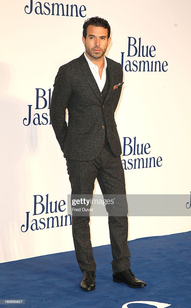 Tom Cullen attends the UK premiere of 'Blue Jasmine' at Odeon West End on September 17, 2013 in London, England.