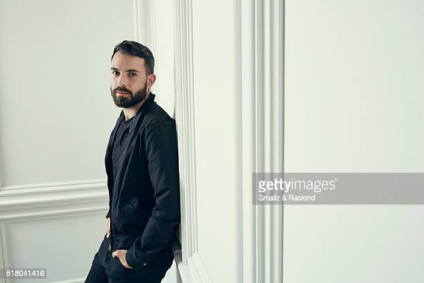 Tom Cullen poses for a portrait in the Getty Images SXSW Portrait Studio Powered By Samsung on March 13 2016 in Austin Texas