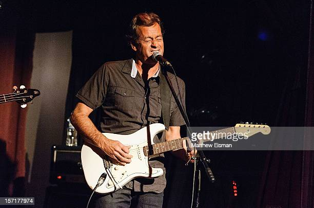 Tom Curren performs at The Slipper Room on November 29 2012 in New York City