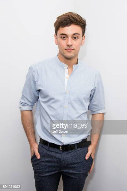 Tom Daley attends the dunhill London presentation during the London Fashion Week Men's June 2017 collections on June 9 2017 in London England