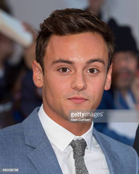 Tom Daley attends the Pride of Britain awards at The Grosvenor House Hotel on September 28 2015 in London England