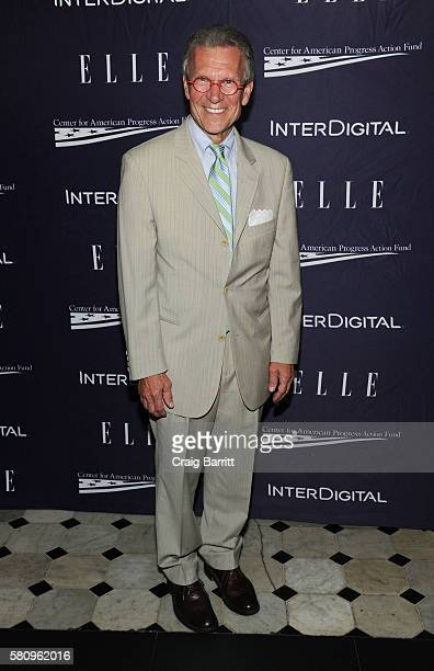 Tom Daschle attends a reception hosted by ELLE EditorinChief Robbie Myers and Center for American Progress President Neera Tanden sponsored by...