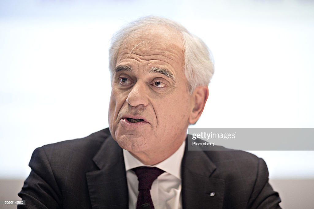 Tom de Swaan, chairman and interim chief executive officer of Zurich Insurance Group AG, speaks during the company's full year results news conference in Zurich, Switzerland, on Thursday, Feb. 11, 2016. Zurich Insurance reported a worse-than-expected loss in the fourth quarter as the company makes plans to turn around its unprofitable general insurance unit. Photographer: Michele Limina/Bloomberg via Getty Images Tom de Swaan