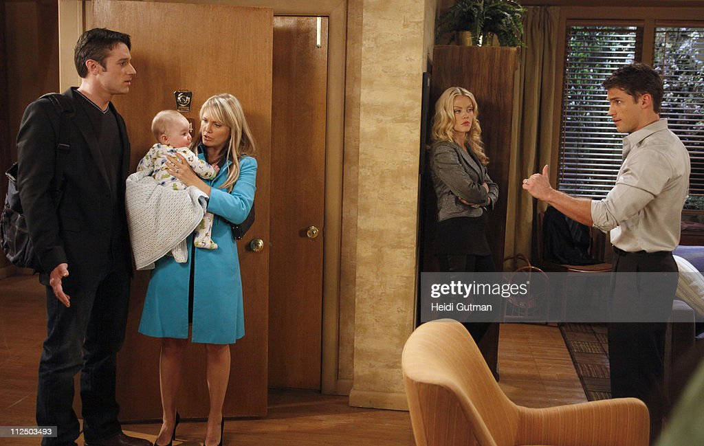 LIVE - Tom Degnan (Joey), Matthew/Nicholas Urbanowicz (Ryder), Terri Conn (Aubrey), Bree Williamson (Jessica) and David Gregory (Ford) in a scene that begins airing the week of May 2, 2011 on ABC Daytime's 'One Life to Live.' 'One Life to Live' airs Monday-Friday (2:00 p.m. - 3:00 p.m., ET) on the ABC Television Network. OLTL11(Photo by Heidi Gutman/ABC via Getty Images)TOM