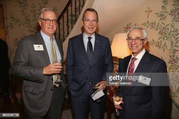 Tom Edelman Retired Admiral Mike Mullen and Colonel Jack Jacobs attend The Common Good proudly presents an intimate conversation with Admiral Mike...