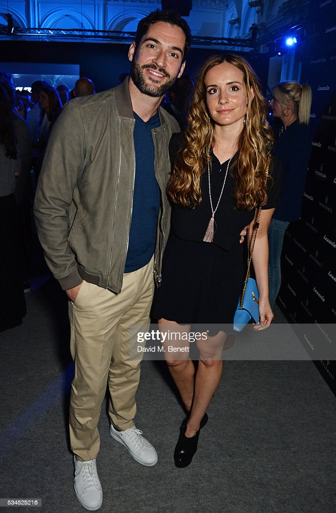 <a gi-track='captionPersonalityLinkClicked' href=/galleries/search?phrase=Tom+Ellis+-+Actor&family=editorial&specificpeople=643597 ng-click='$event.stopPropagation()'>Tom Ellis</a> (L) and Meaghan Oppenheimer attend the UK VIP reveal of the Maserati Levante SUV at The Royal Horticultural Halls on May 26, 2016 in London, England.