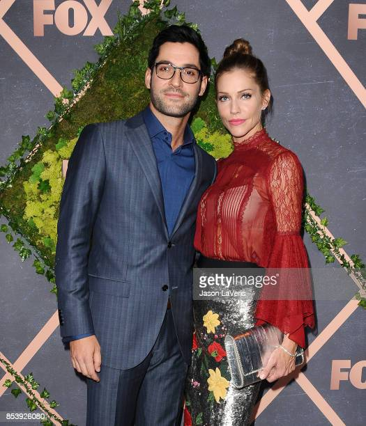Photo Lucifer Season 3 Tricia Helfer As The Mother: Tom Ellis Stock Photos And Pictures