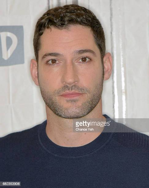 Tom Ellis attends Build series to discuss the show 'Lucifer' at Build Studio on May 12 2017 in New York City