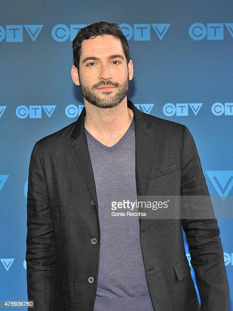 Tom Ellis attends CTV Upfront 2015 Presentation at Sony Centre For Performing Arts on June 4 2015 in Toronto Canada