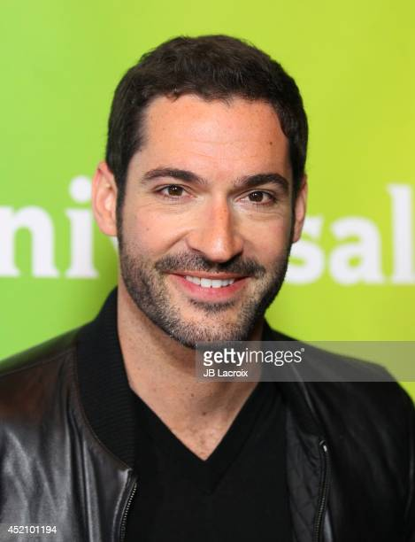 Tom Ellis attends the 2014 Television Critics Association Summer Press Tour NBCUniversal Day 1 held at the Beverly Hilton Hotel on July 13 2014 in...