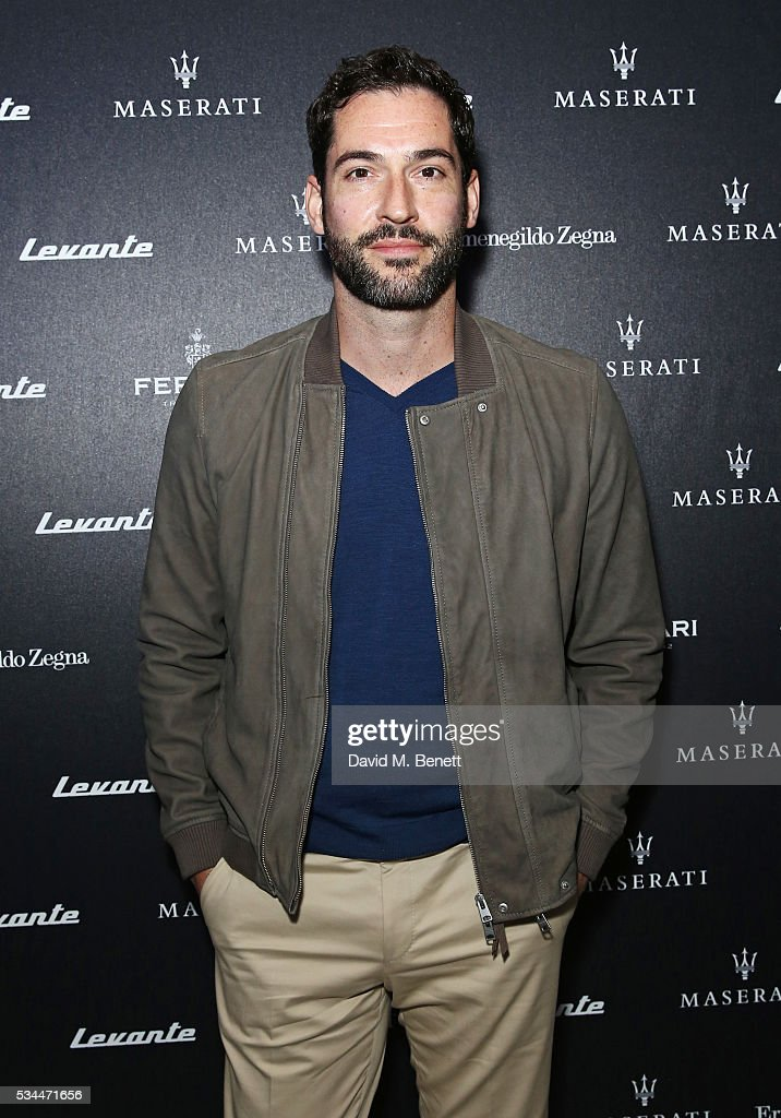 <a gi-track='captionPersonalityLinkClicked' href=/galleries/search?phrase=Tom+Ellis+-+Acteur&family=editorial&specificpeople=643597 ng-click='$event.stopPropagation()'>Tom Ellis</a> attends the UK VIP reveal of the Maserati Levante SUV at The Royal Horticultural Halls on May 26, 2016 in London, England.