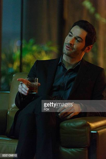 Tom Ellis in the 'Take Me Back To Hell' season finale episode of LUCIFER airing Monday April 25 on FOX