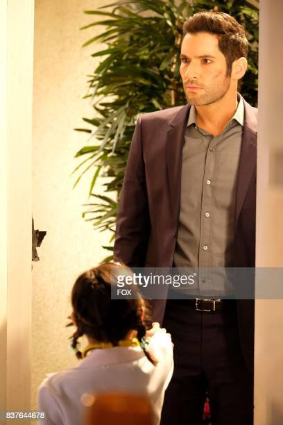 Tom Ellis in the The Good the Bad and the Crispy season finale episode of LUCIFER airing Monday May 29 on FOX