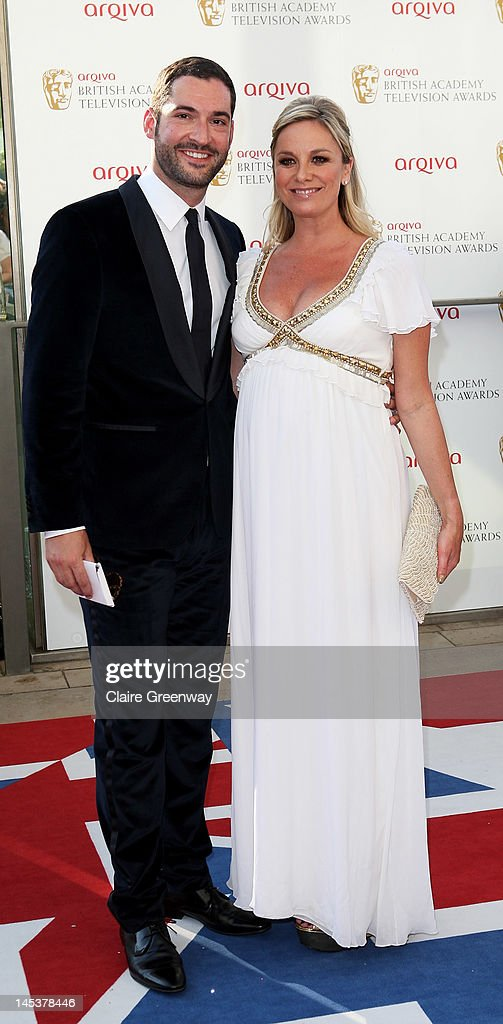 Tom Ellis; Tamzin Outhwaite attend The Arqiva British Academy Television Awards 2012 at The Royal Festival Hall on May 27, 2012 in London, England.