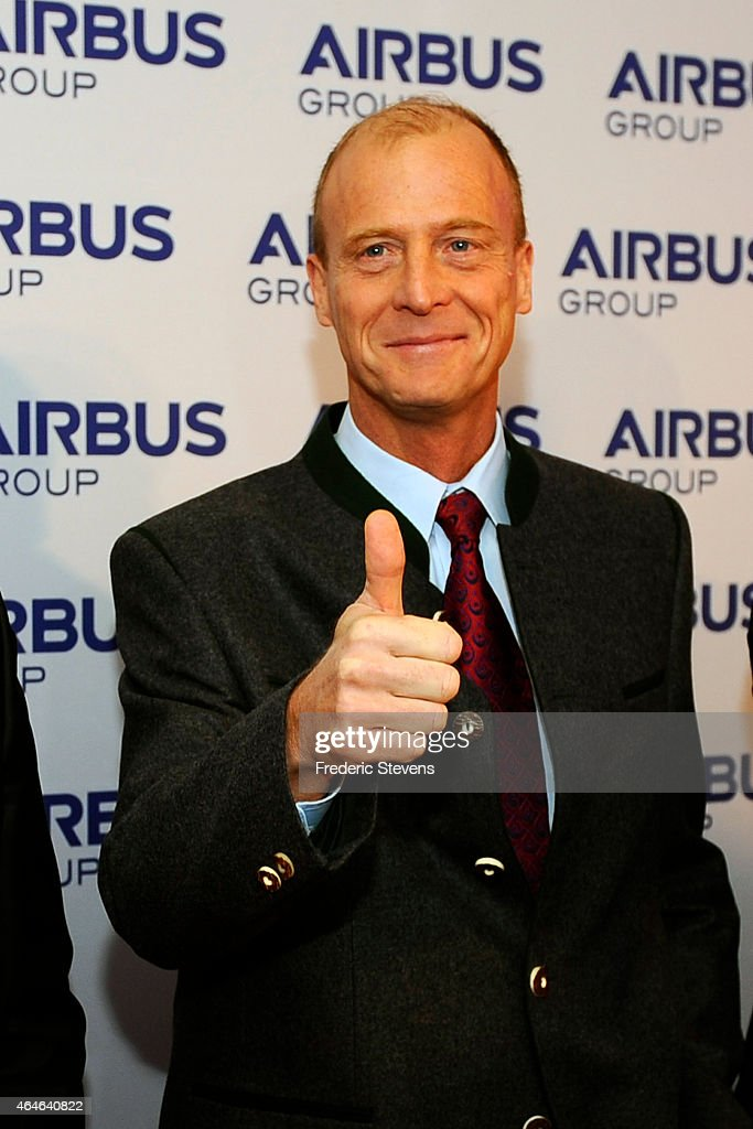 Airbus Group :  Annual Press Conference At Vier Jahreszeiten Kempinski Hotel In Munich