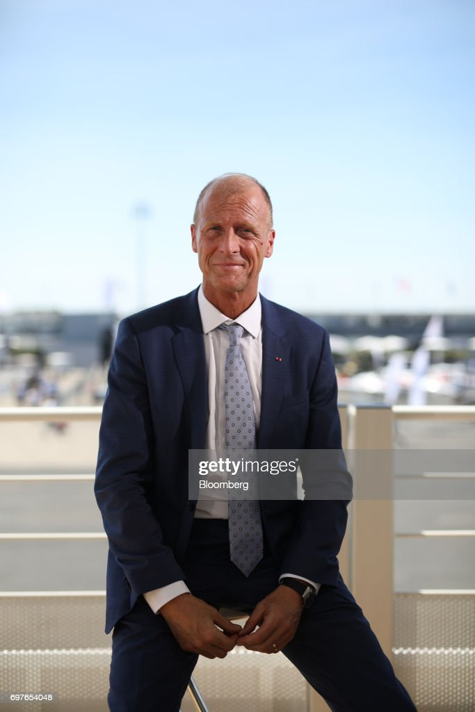 Tom Enders, chief executive officer of Airbus SE, poses for a photograph following a Bloomberg Television interview at the 53rd International Paris Air Show at Le Bourget, in Paris, France, on Monday, June 19, 2017. The show is the world's largest aviation and space industry exhibition and runs from June 19-25. Photographer: Chris Ratcliffe/Bloomberg via Getty Images