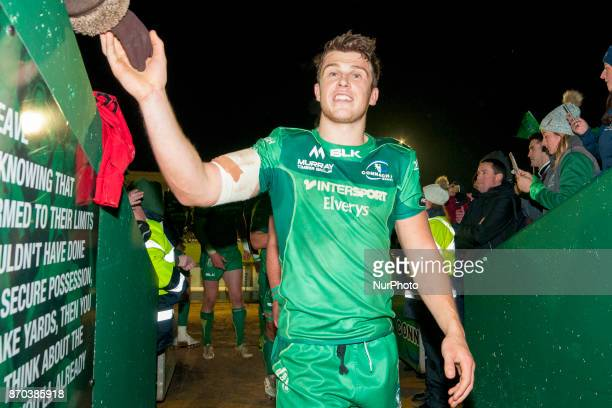 Tom Farrell of Connacht pictured during the Guinness PRO14 Round 8 rugby match between Connacht Rugby and Toyota Cheetahs at the Sportsground in...