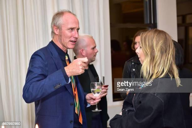 Tom Faulkner and Jenni Palomaa attend Tom Faulkner at Angela Brown Ltd on October 18 2017 in New York City