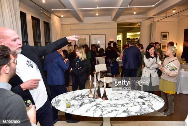 Tom Faulkner at Angela Brown Ltd on October 18 2017 in New York City