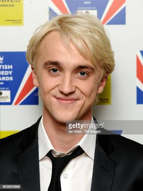 Tom Felton arriving for the British Comedy Awards 2009 at London Television Studios