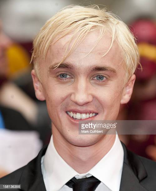 Tom Felton Arriving For The World Premiere Of Harry Potter And The HalfBlood Prince At The Odeon Leicester Square London