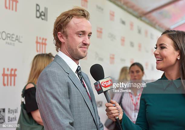 Tom Felton attends the premiere of 'A United Kingdom' at the Toronto International Film Festival at Roy Thomson Hall on September 9 2016 in Toronto...