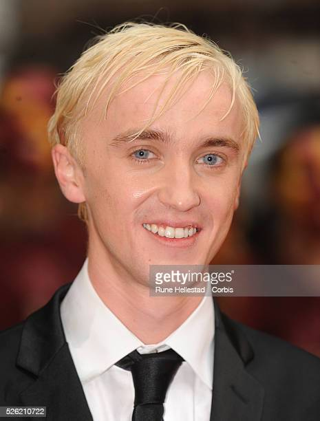 Tom Felton attends the premiere of 'Harry Potter and the HalfBlood Prince' held at Empire and Odeon cinemas at Leicester Square