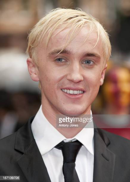 Tom Felton Attends The World Premiere Of 'Harry Potter And The Half Blood Prince' Held At The Odeon Leicester Square London