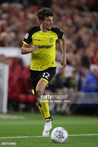 Tom Flanagan of Burton Albion during the Sky Bet Championship match between Middlesbrough and Burton Albion at Riverside Stadium on August 15 2017 in...