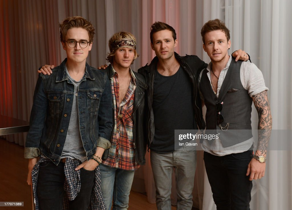 <a gi-track='captionPersonalityLinkClicked' href=/galleries/search?phrase=Tom+Fletcher&family=editorial&specificpeople=213300 ng-click='$event.stopPropagation()'>Tom Fletcher</a>, <a gi-track='captionPersonalityLinkClicked' href=/galleries/search?phrase=Dougie+Poynter&family=editorial&specificpeople=214057 ng-click='$event.stopPropagation()'>Dougie Poynter</a>, <a gi-track='captionPersonalityLinkClicked' href=/galleries/search?phrase=Harry+Judd&family=editorial&specificpeople=207089 ng-click='$event.stopPropagation()'>Harry Judd</a> and <a gi-track='captionPersonalityLinkClicked' href=/galleries/search?phrase=Danny+Jones+-+Musician&family=editorial&specificpeople=206498 ng-click='$event.stopPropagation()'>Danny Jones</a> of McFly attend the 'One Direction This Is Us' world premiere after party on August 20, 2013 in London, England.
