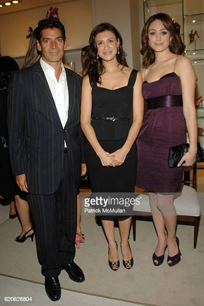 Tom Florio Tatiana Boncompagni and Emmy Rossum attend VOGUE and ELIE TAHARI host cocktails to celebrate TATIANA BONCOMPAGNI's new book GILDING LILY...