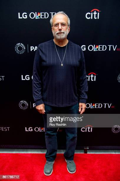 Tom Fontana attends the PaleyFest NY 2017 'Oz' reunion at The Paley Center for Media on October 15 2017 in New York City