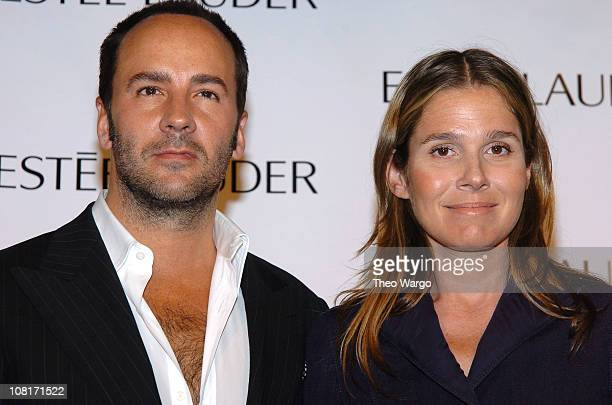 Tom Ford and Aerin Lauder senior vice president of Global Creative Directions Estee Lauder