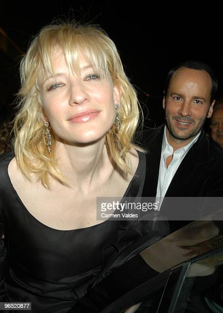 Tom Ford and Cate Blanchett