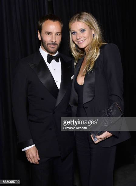 Tom Ford and Gwyneth Paltrow with the Giving Tree Award at The 2017 Baby2Baby Gala presented by Paul Mitchell on November 11 2017 in Los Angeles...