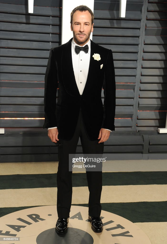 Tom Ford arrives at the 2017 Vanity Fair Oscar Party Hosted By Graydon Carter at Wallis Annenberg Center for the Performing Arts on February 26, 2017 in Beverly Hills, California.