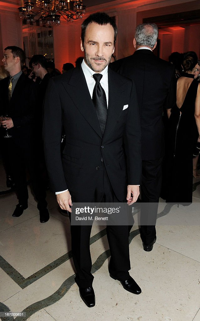 Tom Ford arrives at the Harper's Bazaar Women of the Year awards at Claridge's Hotel on November 5, 2013 in London, England.