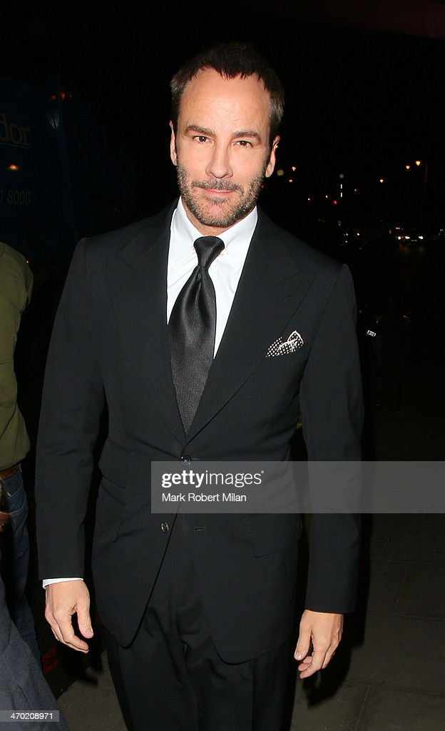 Tom Ford attending the Elle Style Awards ceremony at One Embankment on February 18 2014 in London England