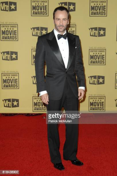 Tom Ford attends 2010 Critics Choice Awards at The Palladium on January 15 2010 in Hollywood California