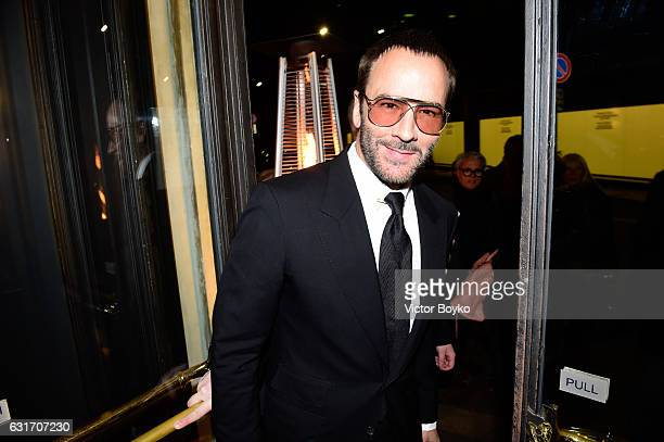 Tom Ford attends GQ Celebrates Milan Men's Fashion Week during Milan Men's Fashion Week Fall/Winter 2017/18 on December 14 2016 in Milan Italy
