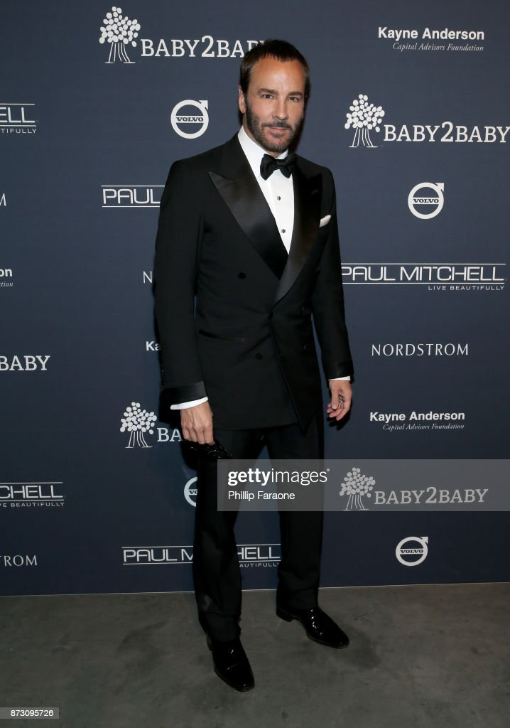 Tom Ford attends The 2017 Baby2Baby Gala presented by Paul Mitchell on November 11, 2017 in Los Angeles, California.